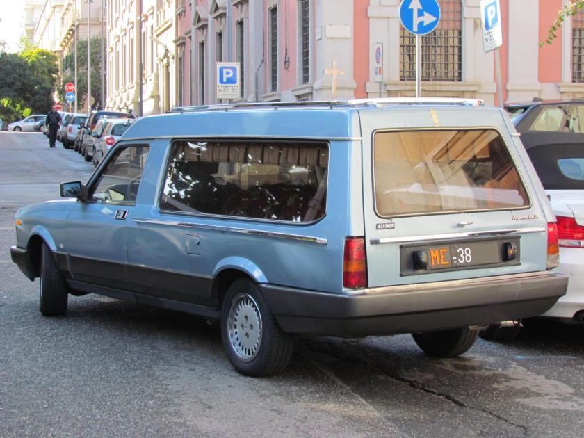 Fiat Argenta 120 I.E. Funebre