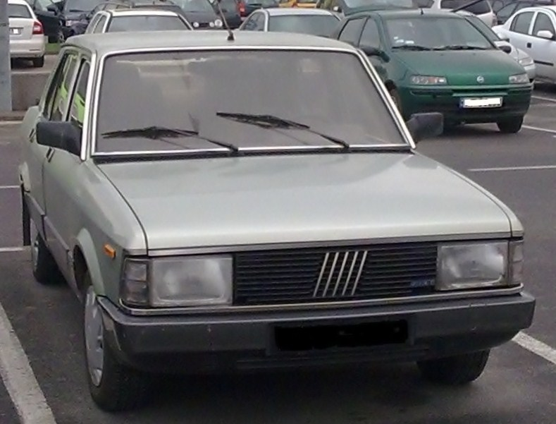 Fiat Argenta showing new facelift grille