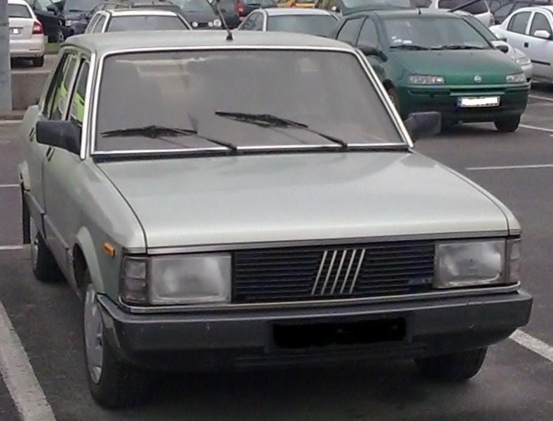 Fiat Argenta showing new facelift grille