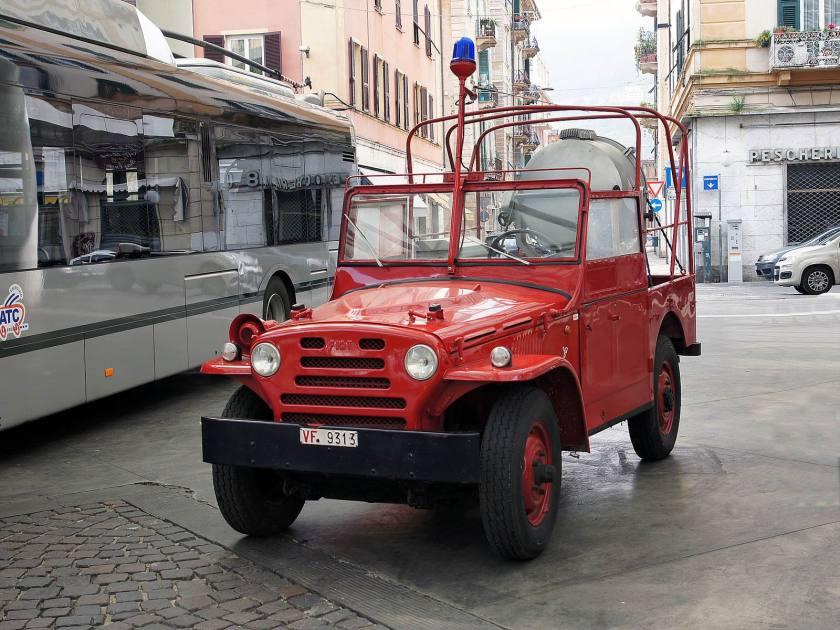 Fiat Campagnola Vigili del Fuoco