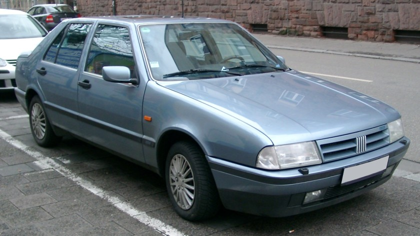 Fiat Croma after facelift 1991