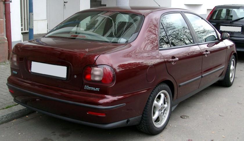 Fiat Marea rear