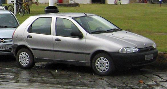 Fiat Palio in Paraty Brazil
