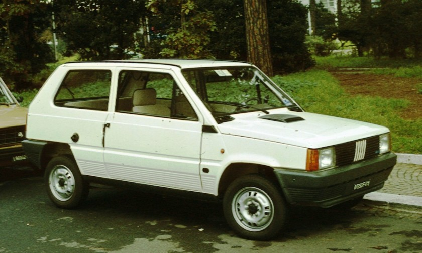 Fiat Panda post facelift