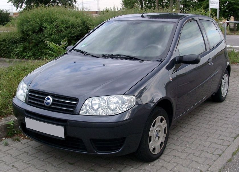 Fiat Punto, 2. Generation Facelift