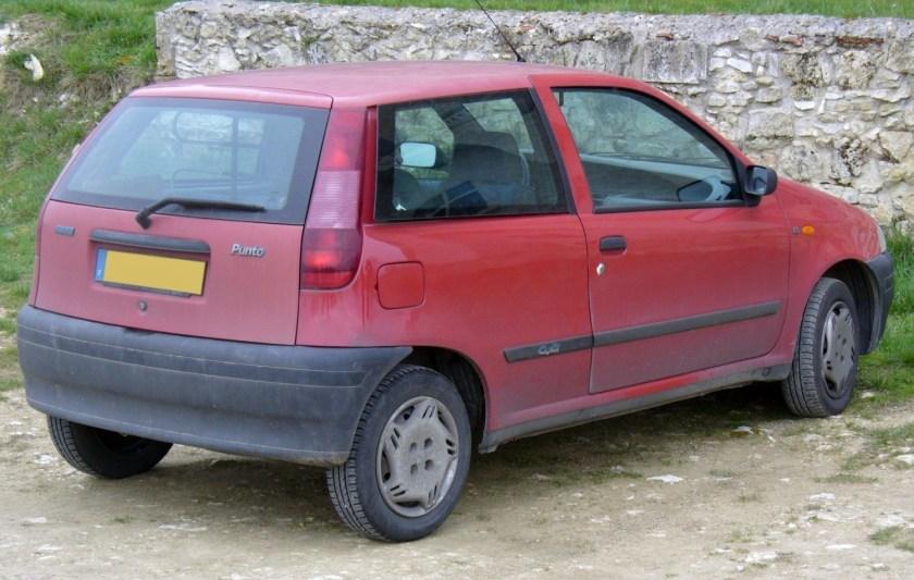Fiat Punto 60 rear