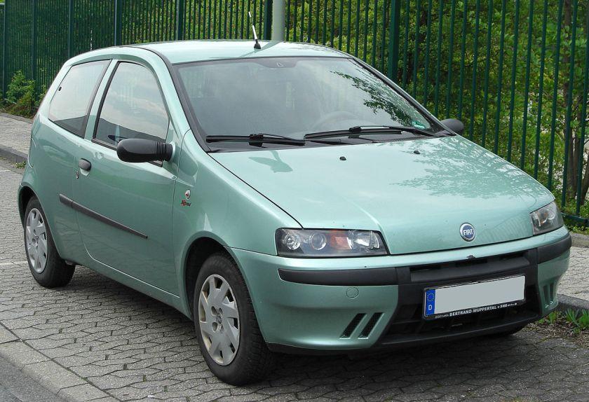 Fiat Punto II front