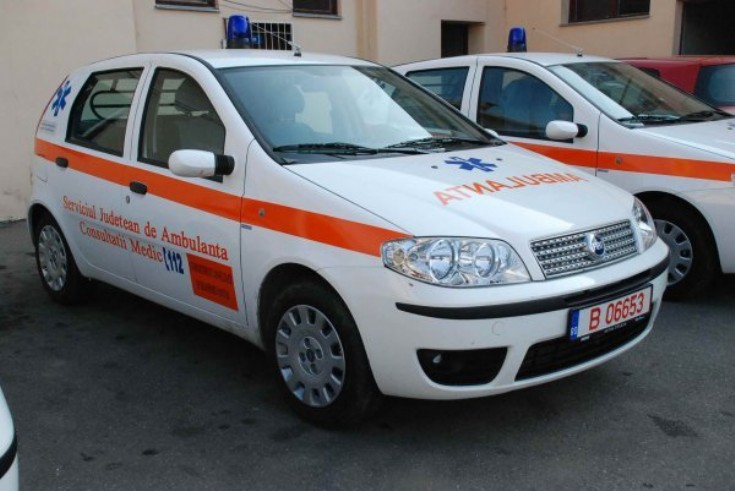 Fiat Punto Medic unit. Ambulance Photos