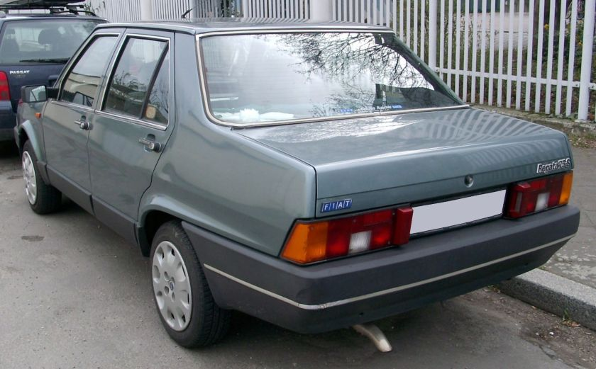 Fiat Regata 75S rear
