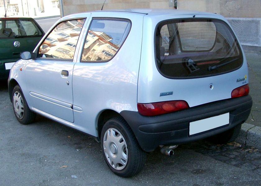 Fiat Seicento rear