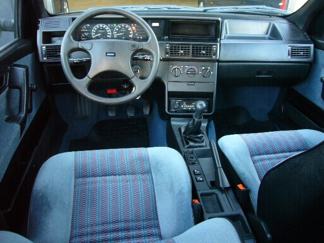 Fiat Tempra Interior and standard dashboard on S models