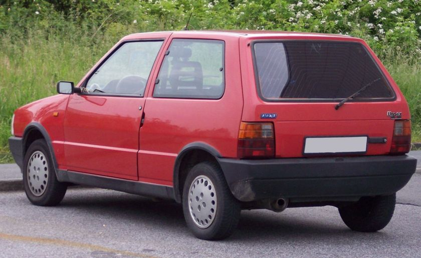 Fiat Uno SX red hl
