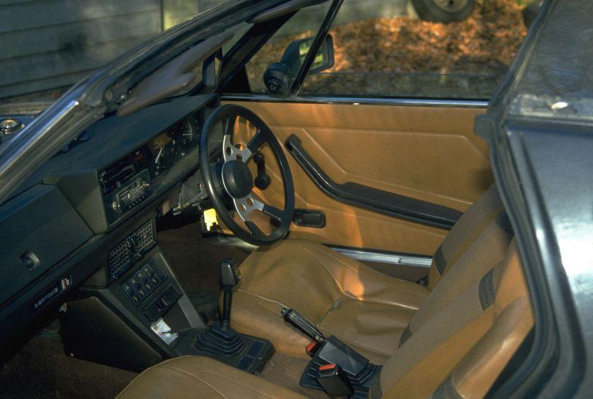 Fiat X1,9Interior