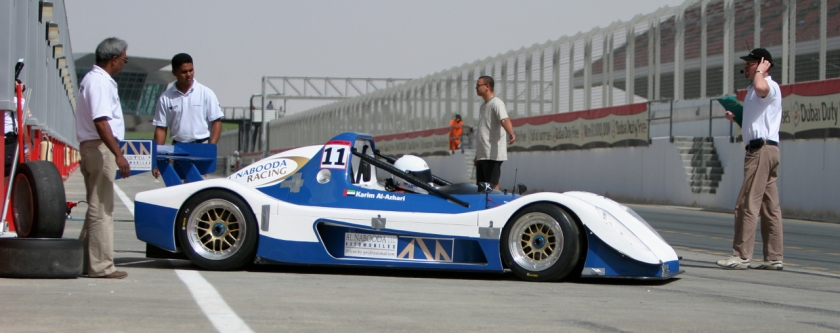 First Gulf Radical Cup Champion - Karim Al Azhari