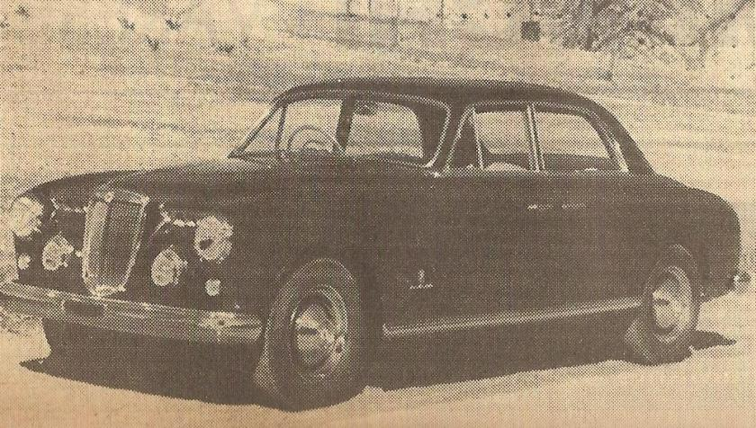Lancia Aurelia carrozzata Allemano