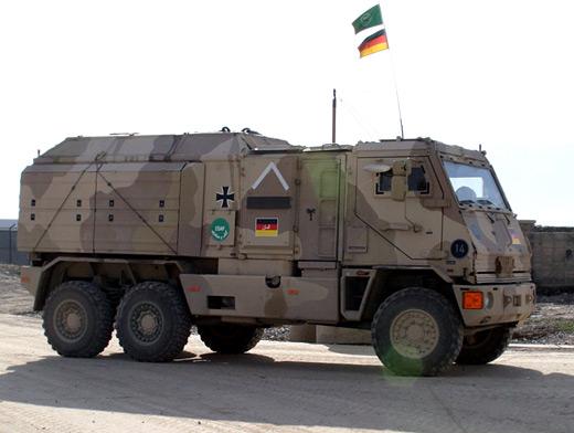 Mowag Doro German Army Afganistan