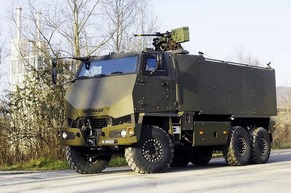 Mowag Duro 6x6 IIIP tactical military vehicle