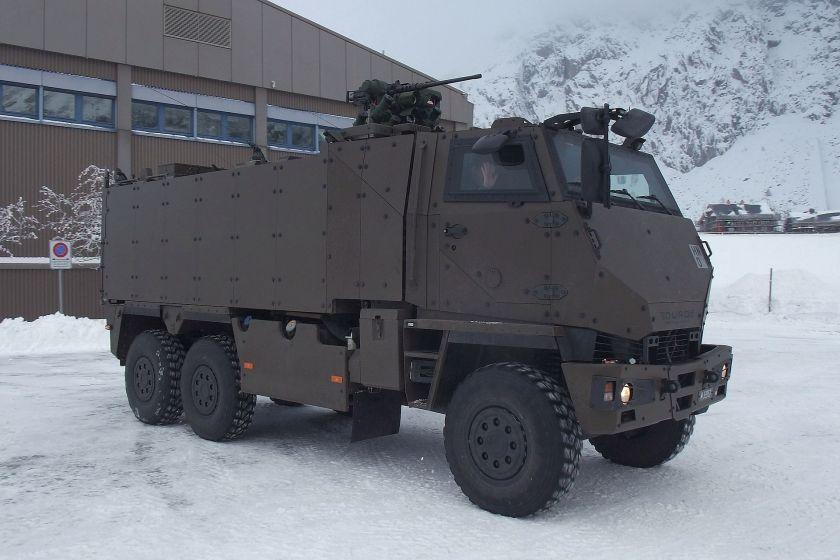 MOWAG DURO IIIP  Duro GMTF der Schweizer Armee