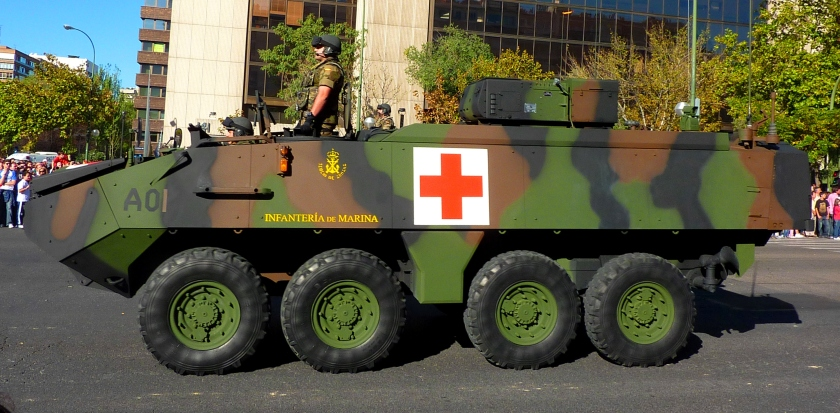 MOWAG Piranha IIIC ambulancia