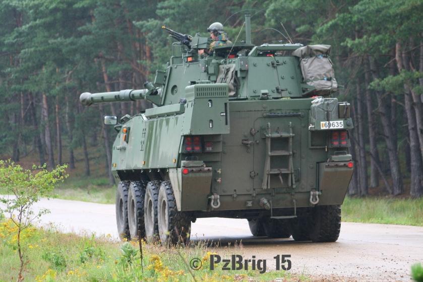 MOWAG Piranha IIIC DF90  Belgium Army