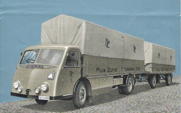 Mowag Vrachtwagen Zwitserland