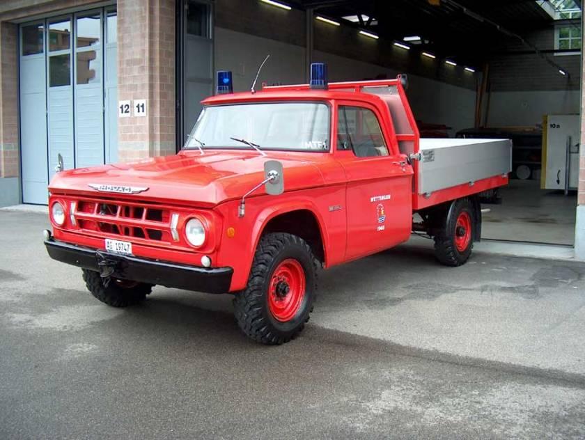 MOWAG W200 Dodge