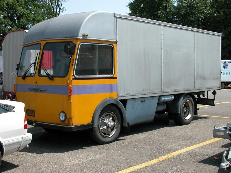 Mowag Zwitserland truck