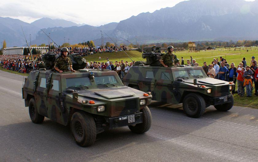 MOWAG's Eagle der Schweizer Armee