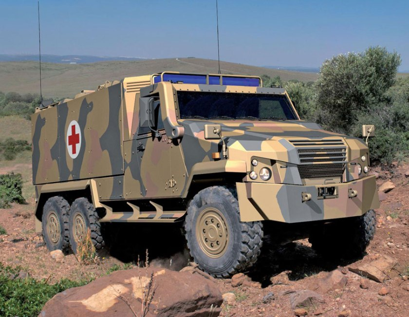 New-MOWAG EAGLE -Ambulanz