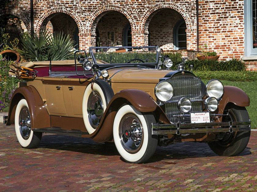 Packard Eight Sport Phaeton