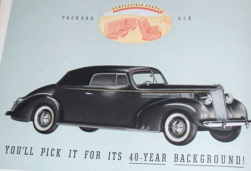 Packard Six Convirtible Coupe