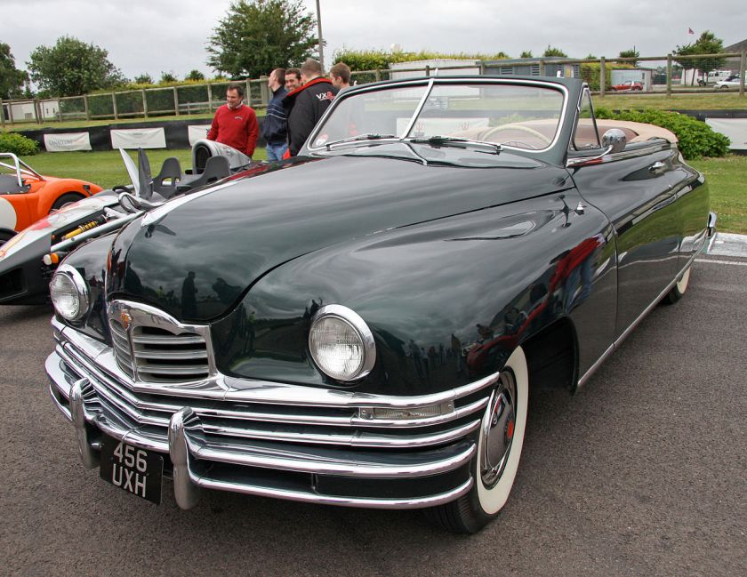 Packard Super 8 2232 Convertible Victoria Coupe