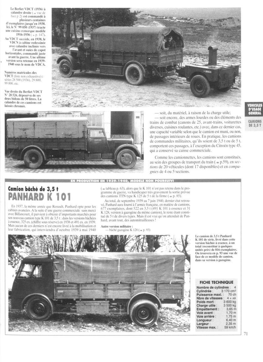 Panhard K 101 truck