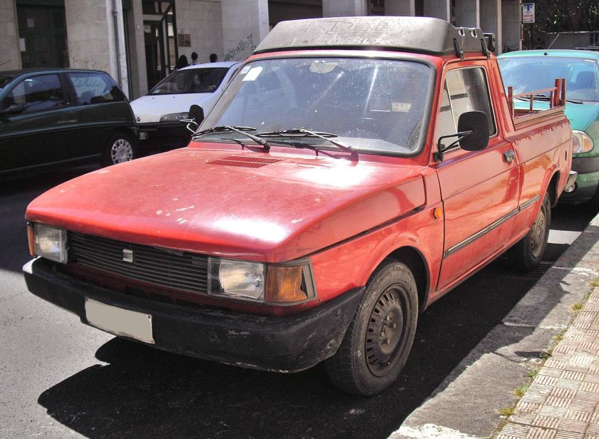SEAT Fiorino pick-up