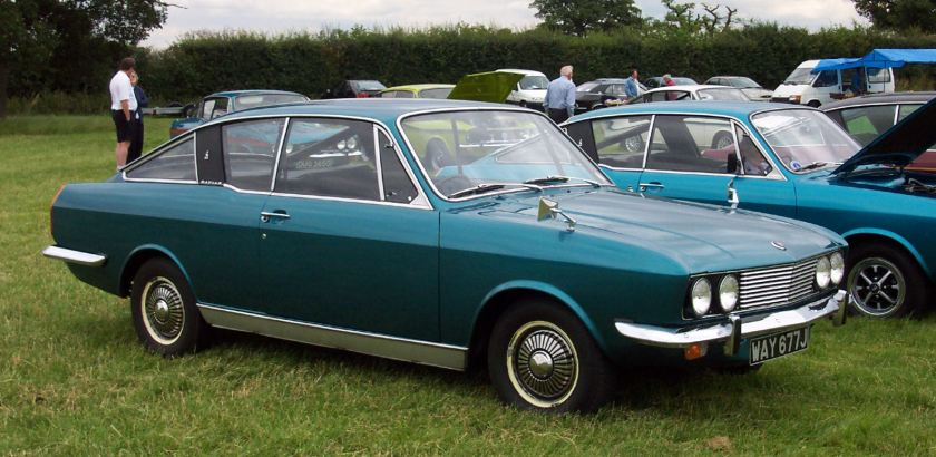 Sunbeam Rapier 'Fastback' Coupe. Picture by David Parrott.