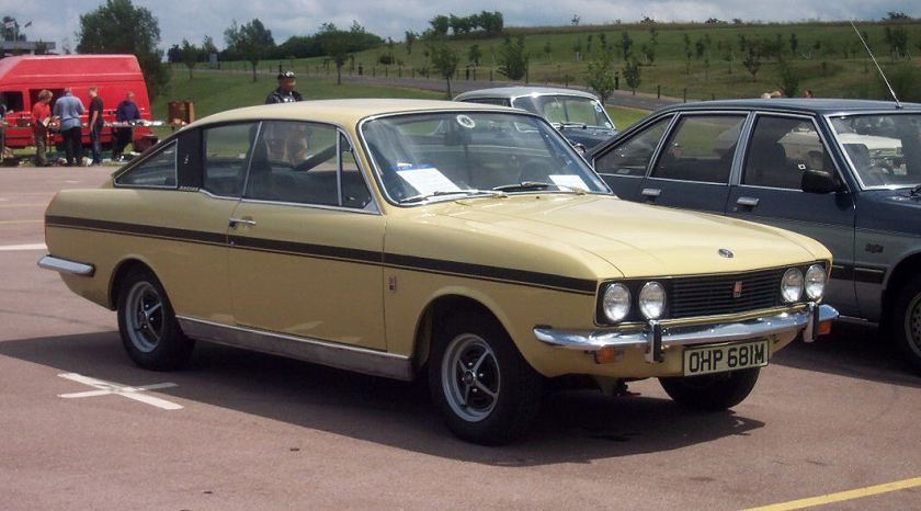 Sunbeam Rapier H120 'Fastback' Coupe. Picture by David Parrott. Summary