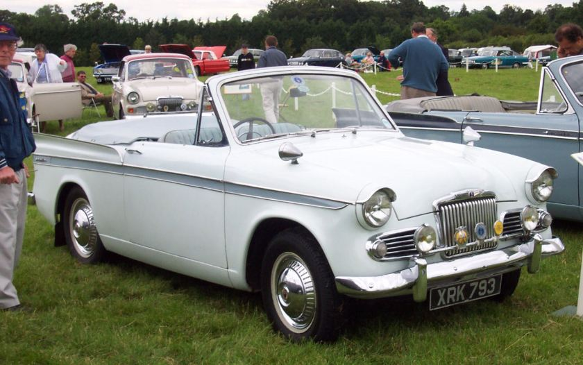 Sunbeam Rapier Series 3 Convertible. Picture by David Parrott.