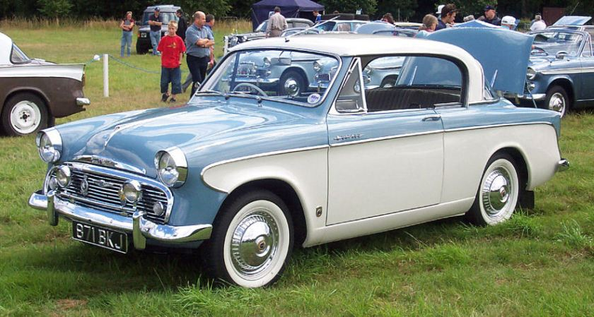 Sunbeam Rapier Series I. Picture by David Parrott.