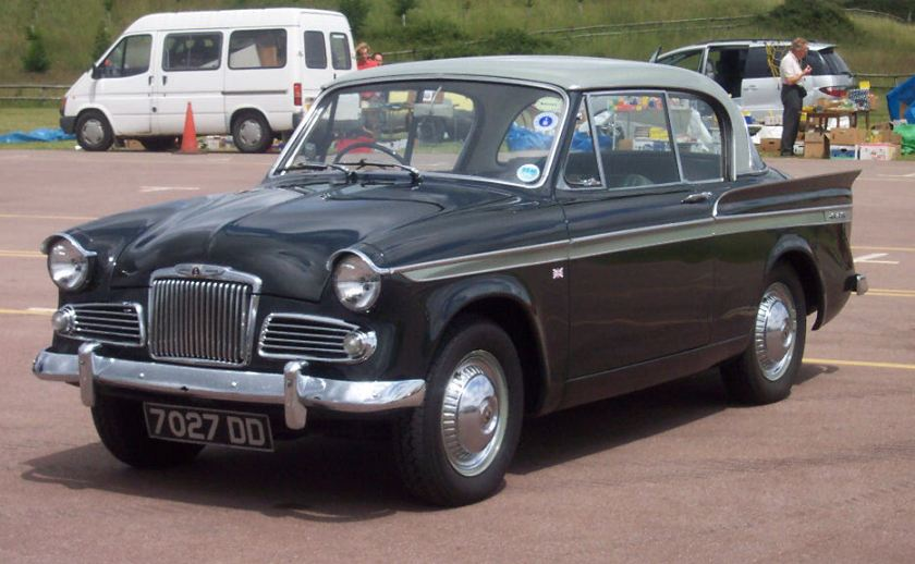 Sunbeam Rapier Series IIIA. Picture by David Parrott.