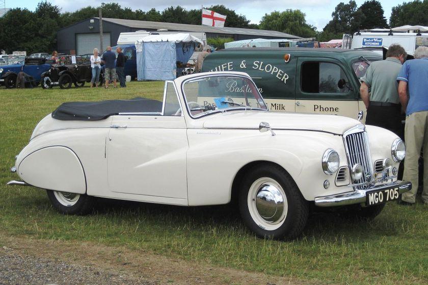 Sunbeam-Talbot 90 Mk II cabriolet