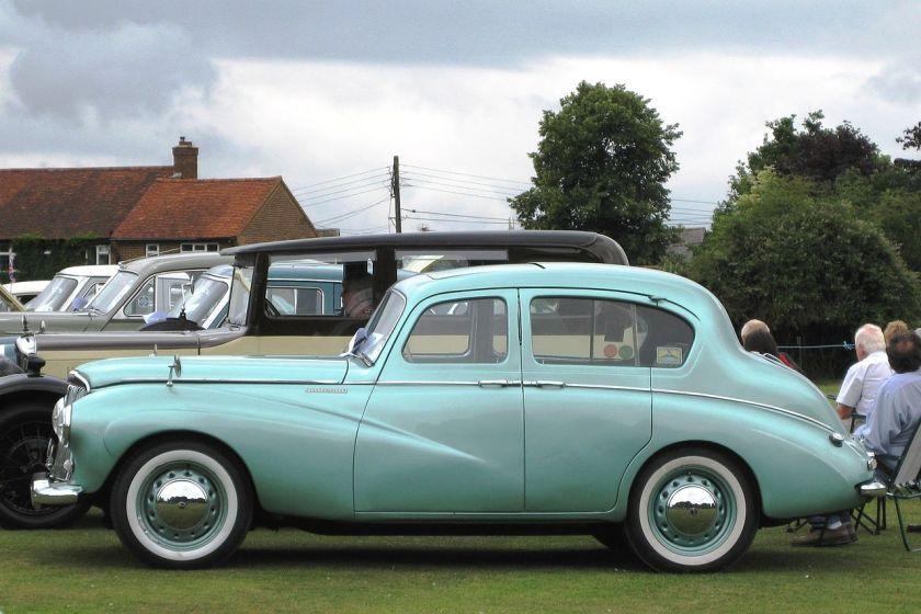 Sunbeam-Talbot 90 Mk IIA saloon