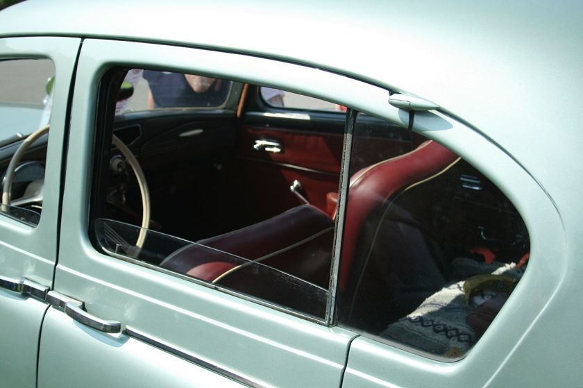 Sunbeam Talbot 90 Pillarless Rear Window