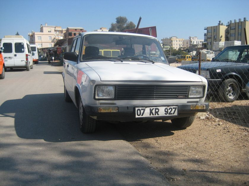 Tofaş Serçe, Turkish version of Fiat 124