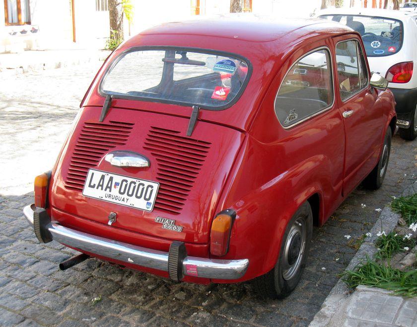 Uruguayan-built Fiat 600S