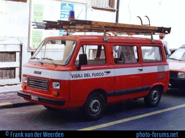 Vigili del Fuoco Ventimiglia Italy Fiat