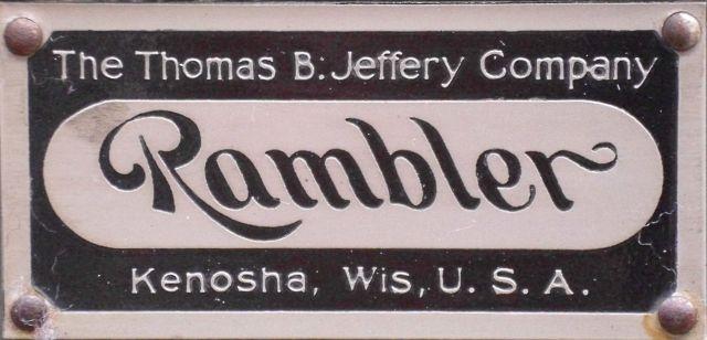 1900 Emblem Rambler