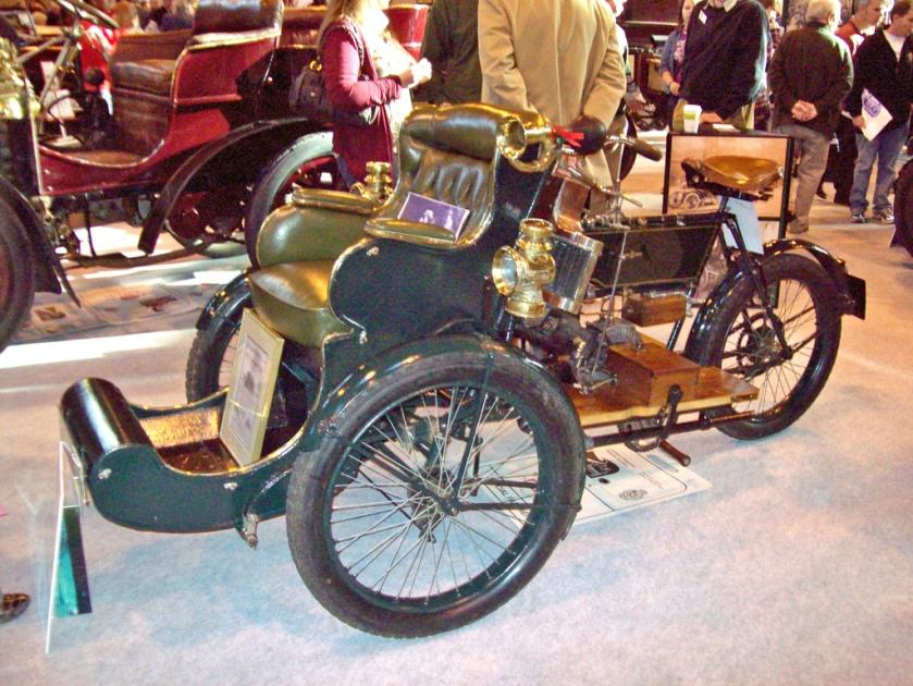 1904 Humber Olympia Tandem 350cc
