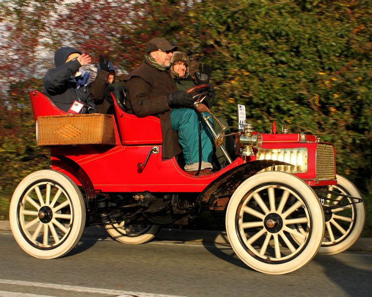 1904 Rambler 7HP Rear-entrance tonneau