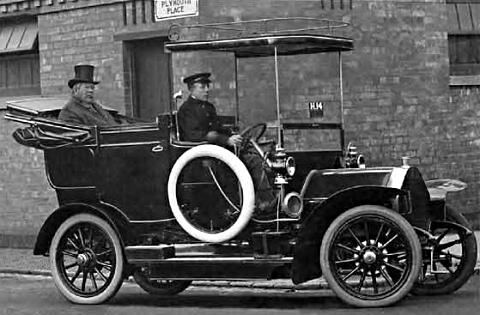 1910 Humber 12 Doctor's Landaulette