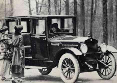 1919 Hudson Essex sedan